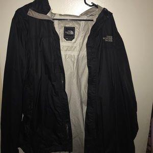 Black north face jackets